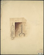 Sketch of fireset for third-floor silk room (H.O. Havemeyer house, 1 East 66th Street, New York, NY)