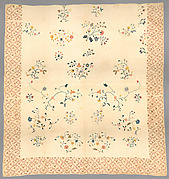 Emboidered quilt