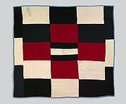 Pieced wool quilt