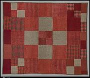 Pieced wool quilt