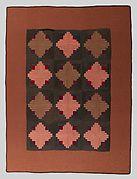 Quilt, Log Cabin pattern
