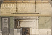 Design for Henry Field Memorial Gallery at the Art Institute of Chicago