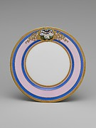 Continental Porcelain Plate, Alabama