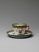 Teacup and saucer