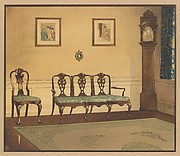 Design for drawing room interior