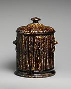 Covered Tobacco Jar