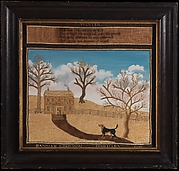 """Winter"" Needlework Picture"