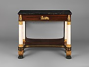 Pier Table in the Neo-Classical Taste