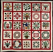 Quilt, Album pattern