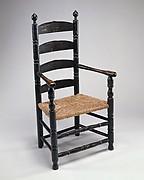 Slat-back Armchair