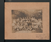 Large photograph of outing of the Lamp Shade Department