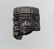 Female head with diadem