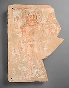 Panel fragment with the god Shiva/Oesho