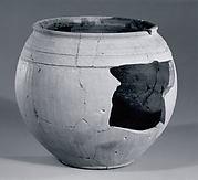 Globular jar