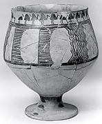 Goblet decorated with a frieze of birds