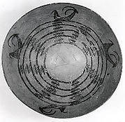 Bowl decorated with horned animals