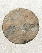 Round disk