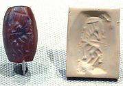 Stamp seal: rearing horse
