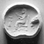 Scaraboid seal with carinated back (?)