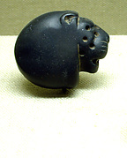 Seal amulet in the form of a lion's head