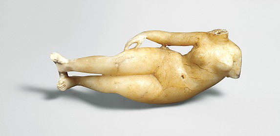 Figure of a reclining woman