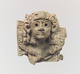 Openwork plaques with ram-headed and human-headed sphinxes
