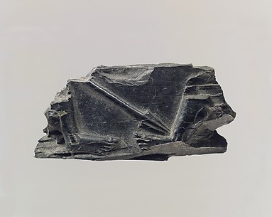 Plaque with spear