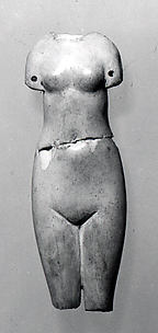 Figure of standing woman
