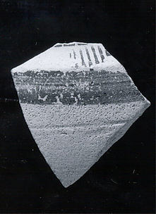 Carinated vessel sherd