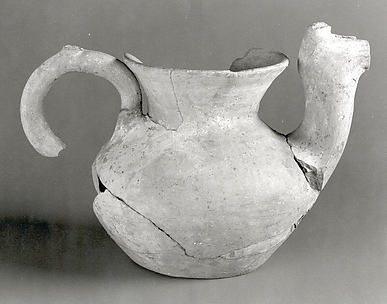 Beak-spouted jug