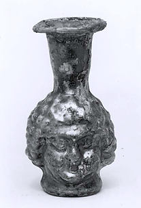Head-shaped flask