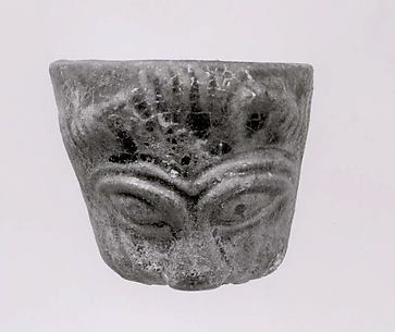 Cup in the shape of a lion's head
