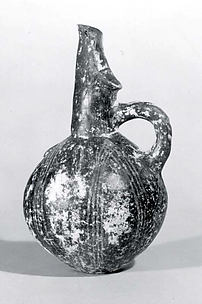 Jar with spout