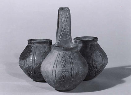 Tripartite vessel