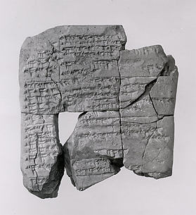 Cuneiform tablet: normal star almanac for S.E. 70 (242–241 B.C.)