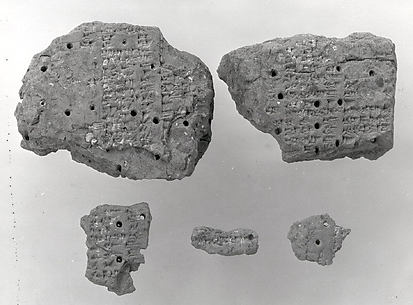 Cuneiform tablet: Akkadian synonym list, Malku=sharru, tablet 3