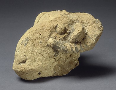 Head of a ram