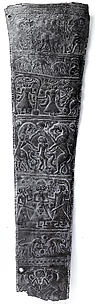 Quiver plaque with animals and mythological scenes