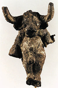 Pendant in the shape of a bull