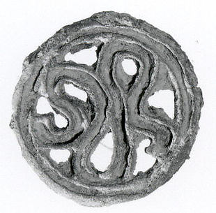Compartmented stamp seal