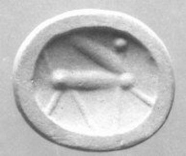 Scaraboid seal with peaked back
