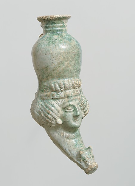 Rhyton with female head