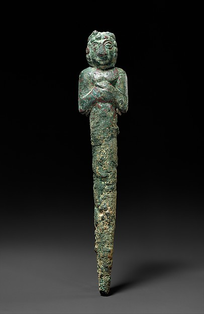 Foundation figure of a deity