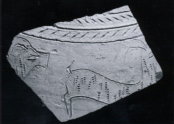 Sherd with incised decoration
