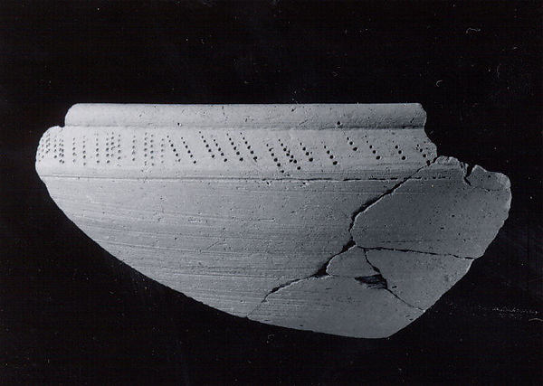 Carinated bowl sherd