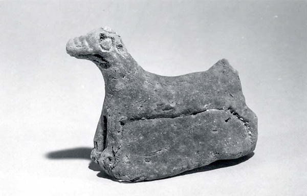 Figurine of animal (dog or mushhushshu)