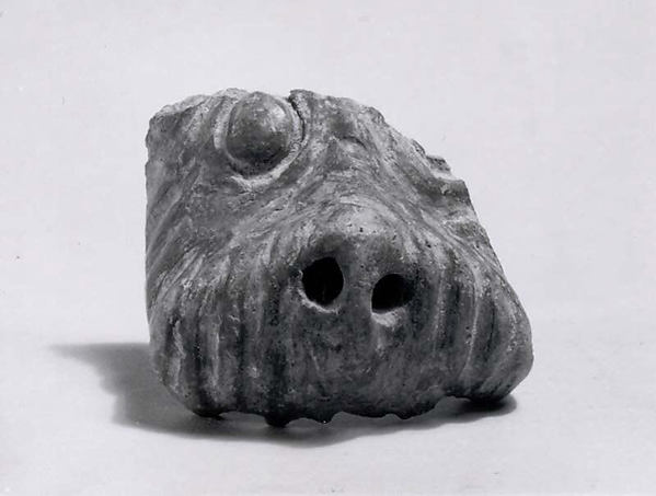 Lion figurine fragment