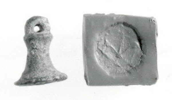 Bell-shaped seal with loop handle