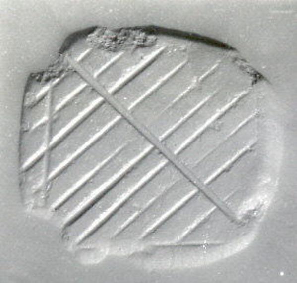 Loop-handled rectangular stamping device