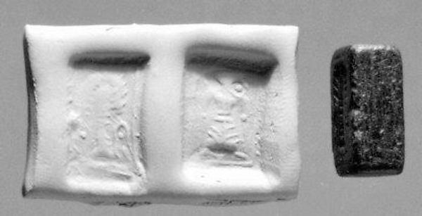 Stamp-cylinder seal